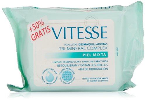 Vitesse Mineral Toallitas para Pieles Mixtas - 10 Unidades: Amazon.es: Amazon Pantry