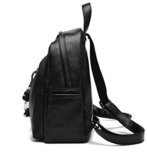 27 New Black Backpack Tromba Purse grande Travel fashionGirls Nero 30 12CM 0rU0w1