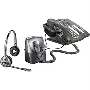 Amazon Com Plantronics Cs361n Binaural Supraplus Wireless