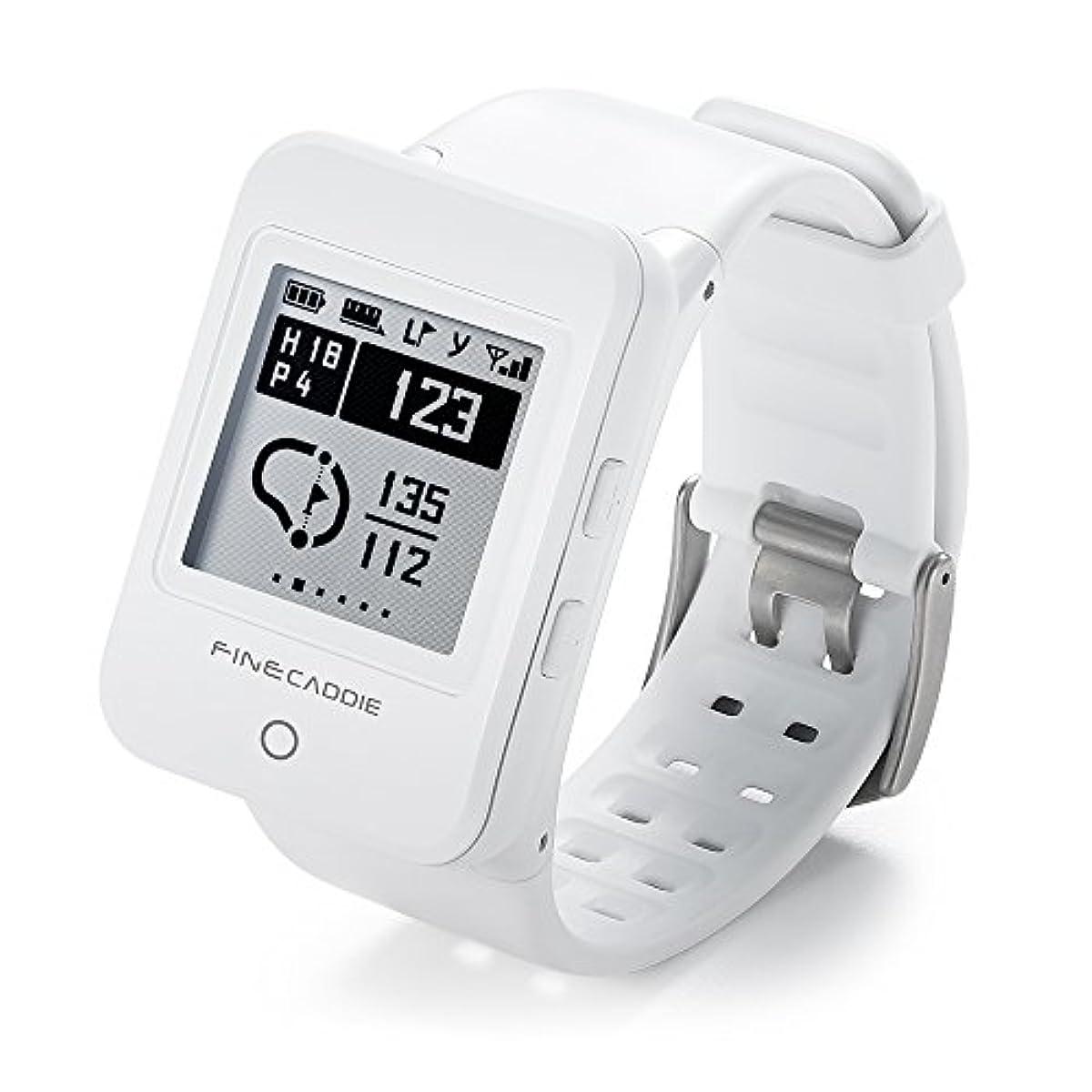 [해외] 골프 네비 골프GPS 거리 측정기 파인 캐디(FINECADDIE) M100알파 클립・손목시계형 음성 안내 도그 레그 대응
