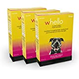 WHELLO Grain Free Buffalo Meal Recipe Dry Dog Food, 3 Pack