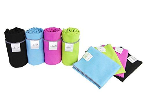 Miss Mila Microfiber 2 Yoga Towels Set 26 Quot X 72 Quot Mat