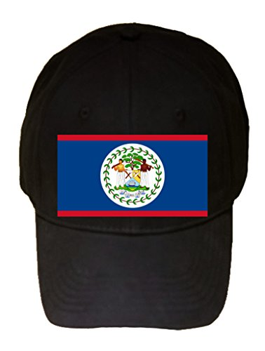 Belize - World Country National Flags - 100% Cotton Adjustable ()