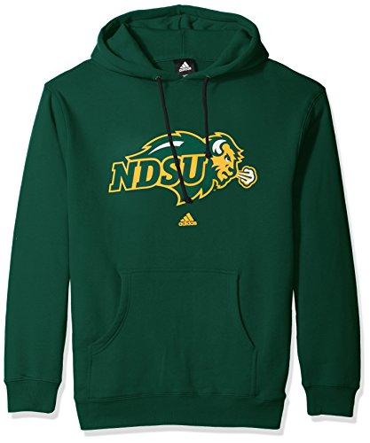 North Dakota Baseball (NCAA North Dakota State Adult men School Logo Fleece Hood,Large,Green)