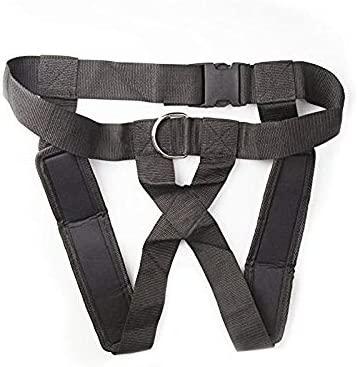 Entrenador de Peso Ajustable cintur/ón de Fuerza y Resistencia a la Velocidad VGEBY1 Arn/és de Hombro del Trineo Equipo de Entrenamiento para Correr