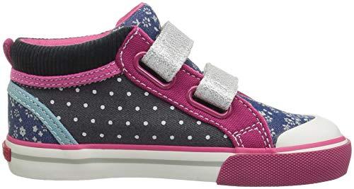 Run Navy Sneaker Corduroy See Multi Kya Kai Girls' 5wgxCnRfq