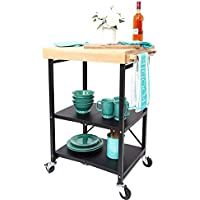 Origami Foldable Kitchen Island Cart (Multi Colors)