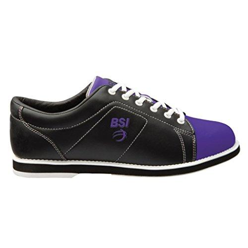 BSI 654 Women's Classic #654, Black/Purple, 7.0
