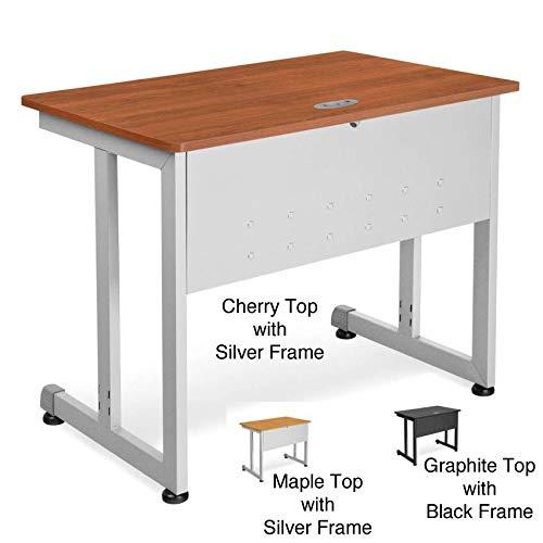 OFM Modular Training Table (20 x 55) Cherry