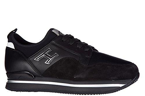 Hogan Zapatos Zapatillas de Deporte Mujer EN Ante Nuevo h222 Negro