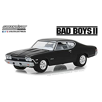 GL Greenlight 1:64 Hollywood Series 21 1968 Chevrolet Chevelle SS Bad Boys II: Toys & Games