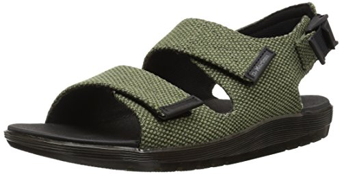Dr. Martens Crewe Olive Sandal, 10 Medium UK (US Men's 11 US) ()