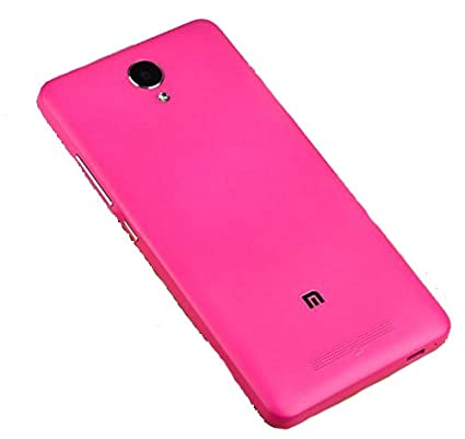 PREVOA ® 丨 Original Batería Funda Reemplazo Cover Case Protictive Carcasa para Xiaomi Redmi NOTE 2 Smartphone 5,5 Pulgadas - (Hotpink)