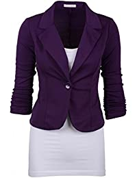 Amazon.com: Purple - Blazers / Suiting & Blazers: Clothing, Shoes ...