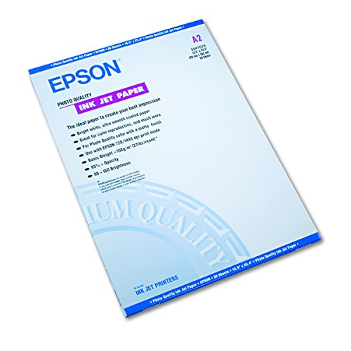 Epson S041079 Matte Presentation Paper, 27 lbs, Matte, 16-1/2 x 23-1/2 (Pack of 30 Sheets) -