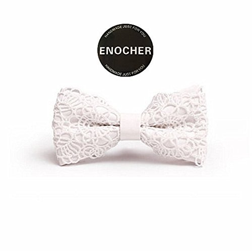 b2f30ad001e9 Amazon.com: Lace Pu Leather Bow Tie,Men Bow Tie,Self Tie Bow Tie,Bow Tie  For Men,Gentleman,Business,Wedding,Party,Show,Gift,Fashion,Highend,Luxury:  Handmade