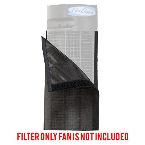 "pollentec fan filter fits lasko 2554, 2551 42"" wind curve fans keeps your fan clean and lasting longer effective at filtering airborne pollen dust mold spores pet dander reusable washable - usa"