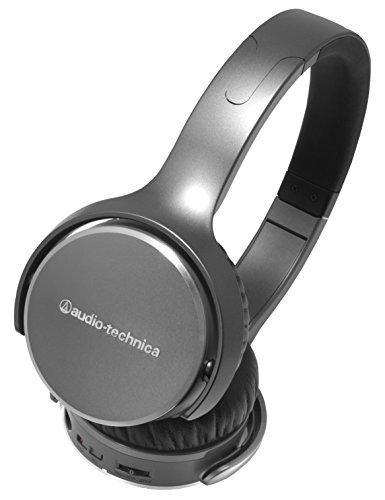 Audio Technica ATH-OX7AMP SonicFuel Amplifier Portable Headphone, Black