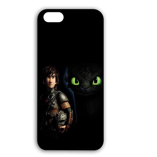 Coque,Unique Hard Phone Cover Case Covers for Coque iphone 7 4.7 pouce, Japanese Cartoon How to Train Your Dragon Design