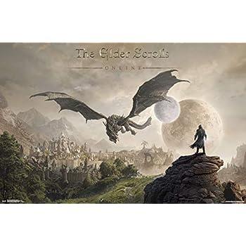 Trends International Elder Scrolls: Online-Elsweyr Wall Poster, 22.375