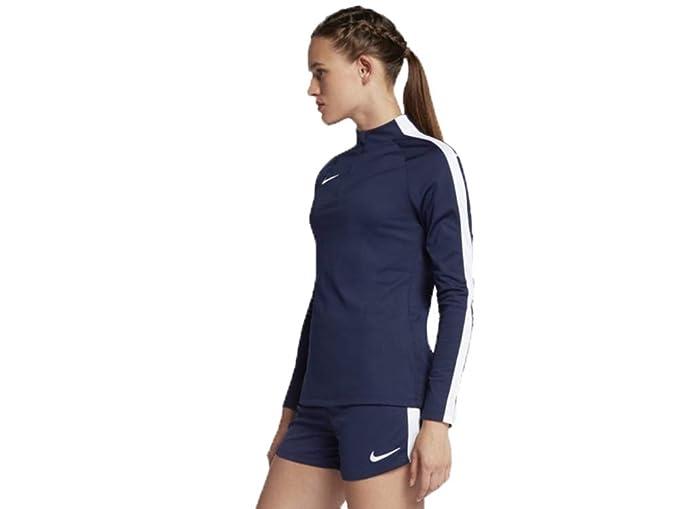 Nike Women s Academy Drill Top Navy at Amazon Women s Clothing store  da413312c