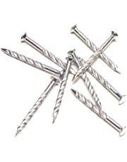 M-D Building Products 95638 1-1/4-Inch Screw Nails for Carpet Metal, Silver