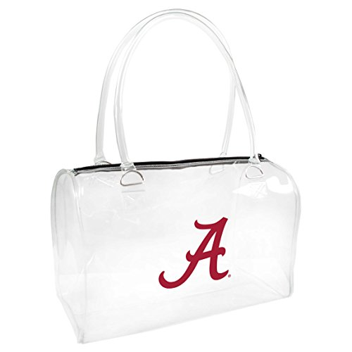 NCAA Alabama Crimson Tide Clear Bowler Handbag