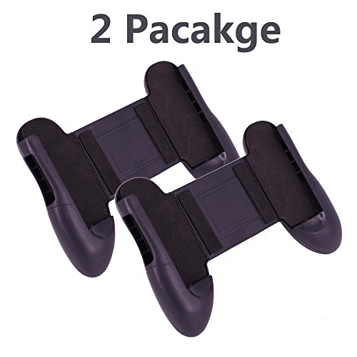 Game Controller Grip Holder - 2pcs Game Clutch Universal Grip Adjustable Phones Mobile Controller Phone Game Grip Case Ergonomic Design Game Grip Handle Controller Stand Holder Joypad for iPhone X 8 7 6 Plus Galaxy Note 8 S8 Edge