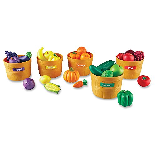 Farmers Market Fruit Set (Learning Resources Farmer's Market Color Sorting Set)