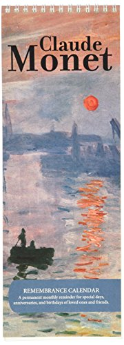 Nouvelles Images Claude Monet - Remembrance Calendar (RCB 102)