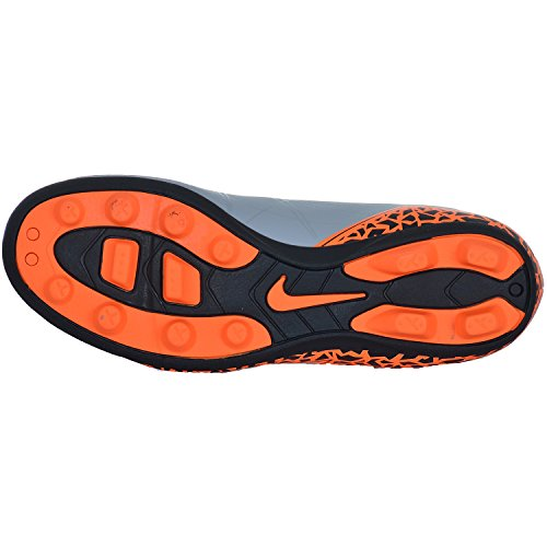 Nike Jr Hypervenom Phade II Fg-R, Scarpe sportive, Ragazzo wolf grey /total orange