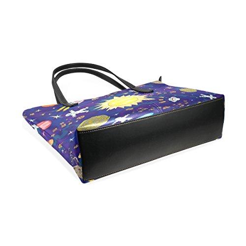 Bag Coosun Per Borse Modello A Donne Leather Tracolla Muticolour Della Tote E Spazio Pu Le Borsa Medio qPw1npBqF
