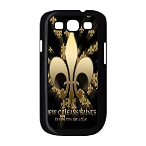 Customizeize NFL New Orleans Saints Back Case for SamSung Galaxy S3 I9300 JNS3-1068