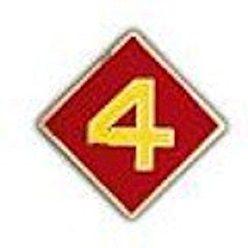 4th Marine Division Small Hat Pin (Hat Marine Division)