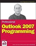 Professional Outlook 2007 Programming, Ken Slovak, 0470049944