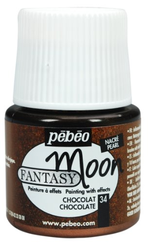Pebeo Fantasy Moon Paint Chocolate