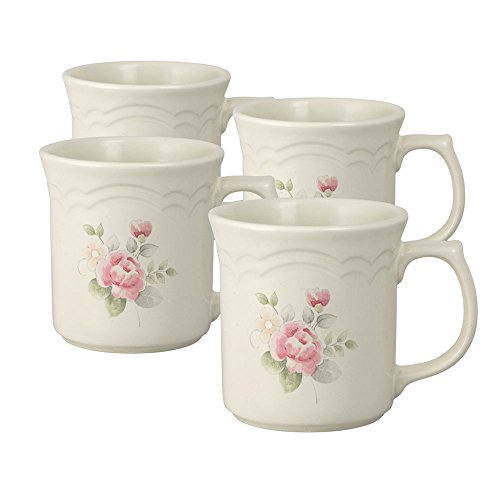 - Pfaltzgraff Tea Rose Coffee Mug (12-Ounce, Set of 4)