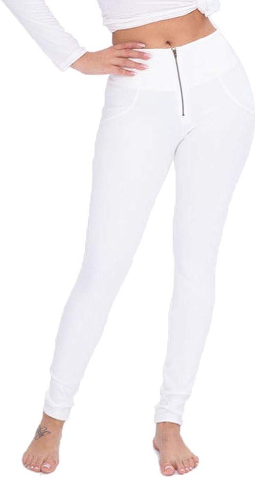 TBATM Leggings para Mujer Pantalones De Yoga De Algodón De Cintura ...
