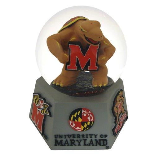 Mascot Water Globe - NCAA Maryland Terrapins Mascot Musical Snow Globe