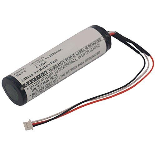 Exell 3.7V 2200mAh Li-ion Portable Speaker Battery Fits Logitech 2nd MM50, Logitech NTA2335, Logitech Pure-Fi Anywhere Speaker