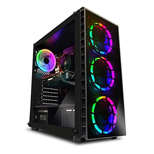 ADMI Gaming PC: i5 9400F 4.1Ghz SIX Core CPU/Nvidia GTX 1660Ti 6GB / 8GB 2400MHz / 1TB HDD/Tempered Glass RGB Case/Windows 10