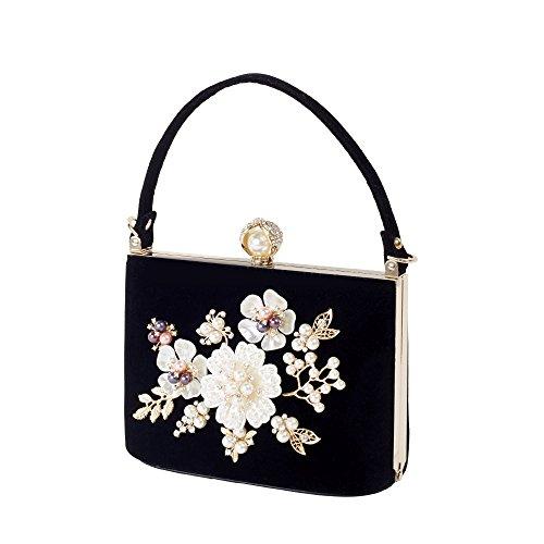 Bag Wedding Luxury nbsp; GAOXIA Bags Handbag nbsp;Party Pearl Clutch Mini Evening Women nbsp; Black Bride Hand Crystal Day xAPUqwz