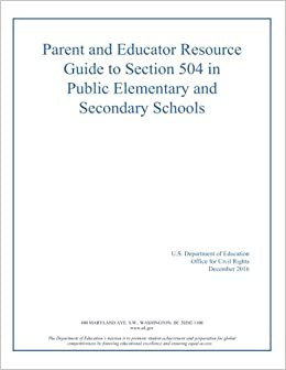 A Parents Guide To Section 504 In >> Parent And Educator Resource Guide To Section 504 In Public