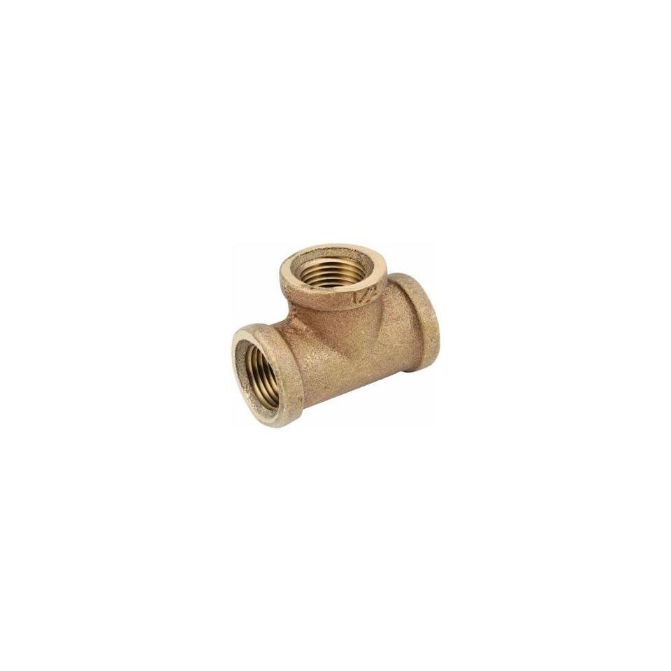 Anderson Metals 738101 06 3/8 Brass Tee