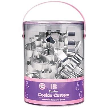 Wilton 2308-1134 Spring 18 Piece Metal Cookie Cutter Set