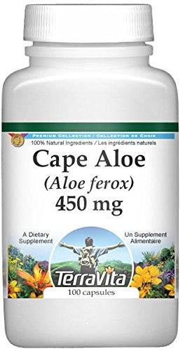 Amazon.com: Cape Aloe (Aloe ferox) - 450 mg (100 Capsules, ZIN: 514685): Health & Personal Care