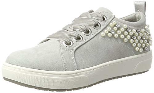 Rose 23736 Femme 36 Basses Comb Marco Grey Sneakers Tozzi EU Gris qXx5BWOSw