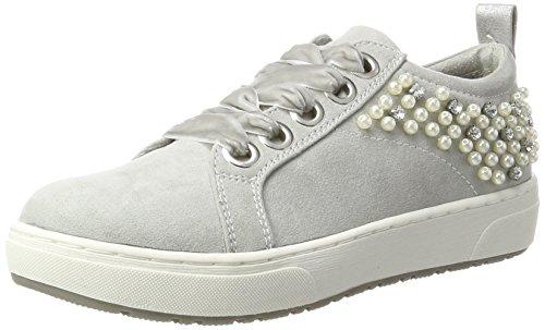 23736 Comb EU Tozzi Gris Sneakers Femme Rose Grey 36 Basses Marco q1AW5A