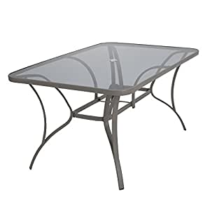 Cosco 88646BGPE Dining Table, Gray