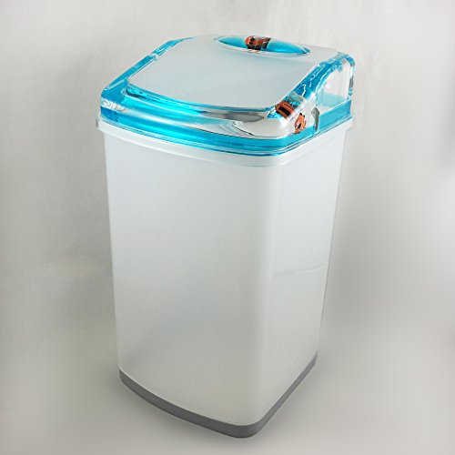 Sea Friends Waste Basket with Premium Quality Acrylic and Mineral Water inside ()